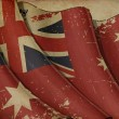 AustraliRed Ensign Old Paper — Stock Photo #11816809