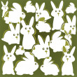 Rabbits background — Stock Photo #11124925