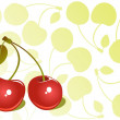 Cherry background — Stock Photo #11138269