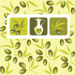 Olives background — Foto Stock