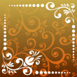 Abstract floral pattern - Foto Stock