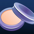 Compact powder — Foto de Stock