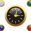 Royalty-Free Stock Vector Image: Set clock
