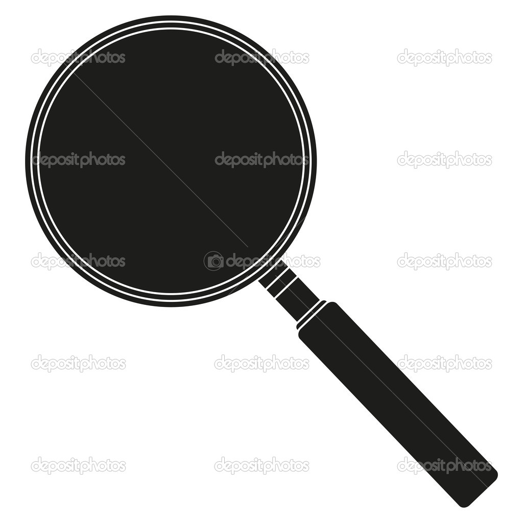 A magnifying glass (lens) — Stock Vector #11541406