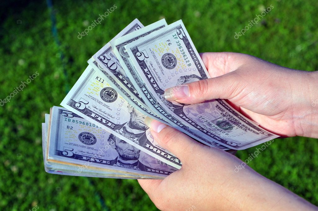Recount of money — Stock Photo #11648189