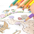 Children's drawing — Stock Photo #11903457