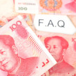 Chinese currency — Stock Photo
