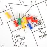 Circuit diagram — Stock Photo #11916398
