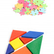 Royalty-Free Stock Photo: Chinese tangram and puzzle
