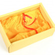 Yellow box — Stock Photo #11953535