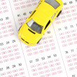 Driving test - Foto Stock