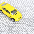 Binary code and toy car — Stock Photo #12046507