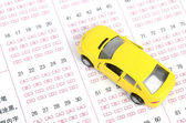Driving test — Stockfoto