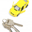 Toy car and key — Stock Photo #12072654