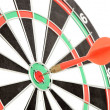 Dart and target — Stock Photo