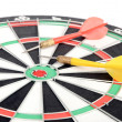 Dart and target — Stock Photo #12153727