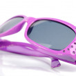Purple sunglasses - Foto Stock