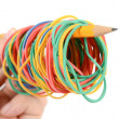 Rubber bands — Stock Photo #12189765