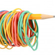 rubberbands — Stockfoto