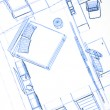 Foto Stock: House plan