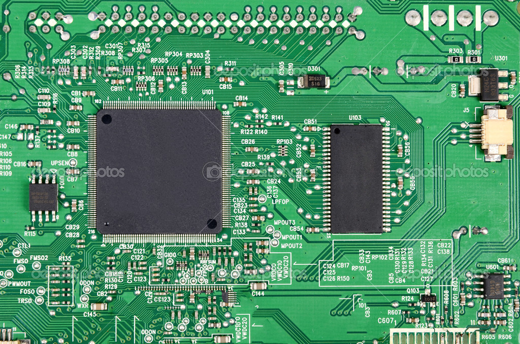 Printed circuit board — Foto de Stock   #12389933