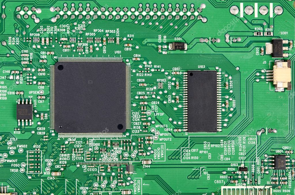Printed circuit board — Foto Stock #12389933