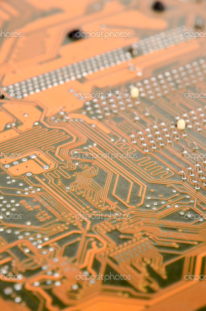 Printed circuit board  Stock Photo #12390839