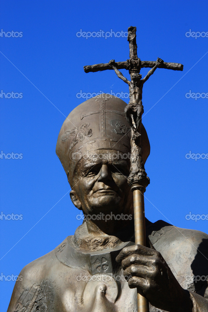 Pope,Jan Paweł 2 — Stock Photo #10755546