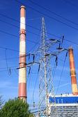 Central eléctrica, central eléctrica, planta de energía, — Foto de Stock