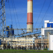 Stock Photo: Power station, powerhouse, generating station,