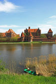 Malbork,Castle — Stock Photo