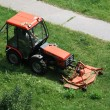 Tractor,mower — Stock Photo #11753010