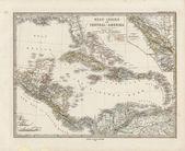 Old map — Stok fotoğraf