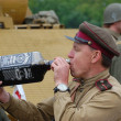 WWII reenactment - Foto Stock