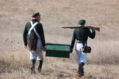 Crimean War reenactment — Stock Photo