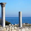 Ruins of ancient greek colony Khersones - Stock Photo