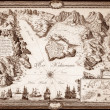 Old map — Stock Photo