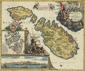 Malta 1720 — Stock Photo