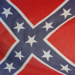 Stock Photo: Vintage United States Confederate flag