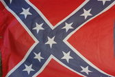 Vintage United States Confederate flag — Stock Photo