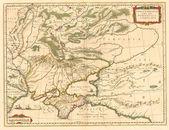 Crimea old map — Stock Photo