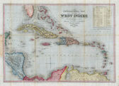 West Indies 1853 — Stock Photo