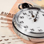 Euro Timer — Stock Photo