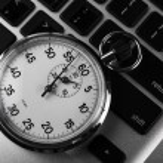 Stopwatch Keyboard — Stock Photo #11224481