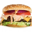 Delicious Cheeseburger — Stock Photo #11736904