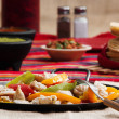 Chicken Fajitas - Stock Photo