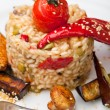Risotto with vegetable - Zdjcie stockowe