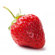Fresh strawberries on white background — Stock Photo