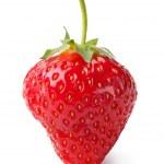 Fresh strawberries on white background — Stock Photo #11907829