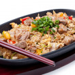 Japanese pilaf — Stock Photo